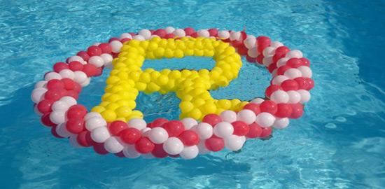 Allestimenti allestimenti e addobbi di palloncini for Addobbi piscina