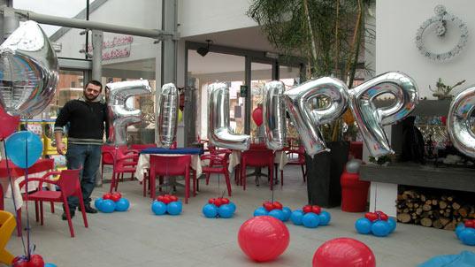 Allestimenti allestimenti e addobbi di palloncini realizzati dal negozio party point di - Bagno moderno marina di grosseto ...